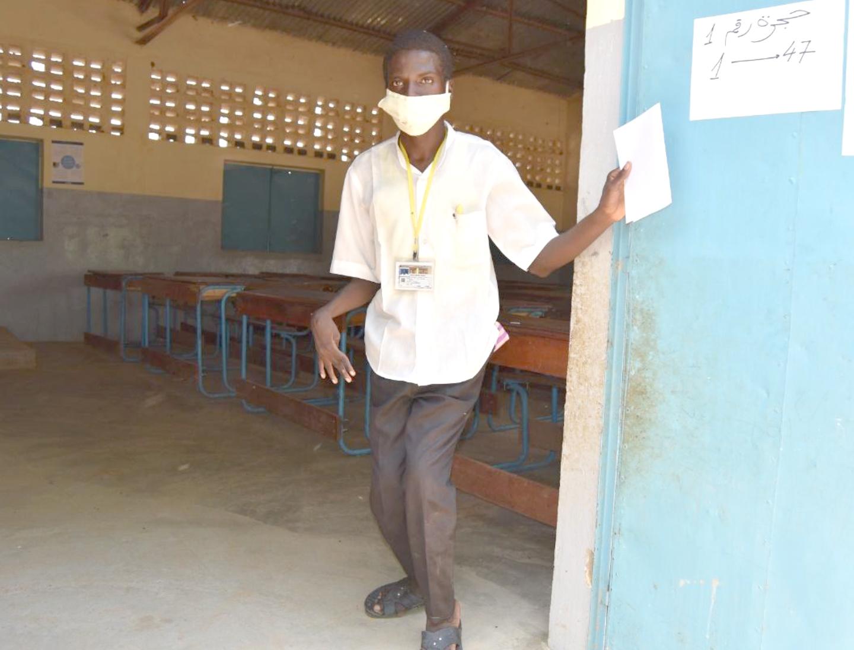 Djafar Abakar Issakh, réfugié soudanais : malgré son handicap il est déterminé à obtenir le baccalauréat 2020