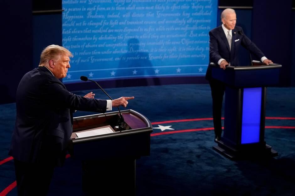 Election américaine: le premier débat Trump – Joe Biden, un véritable capharnaüm