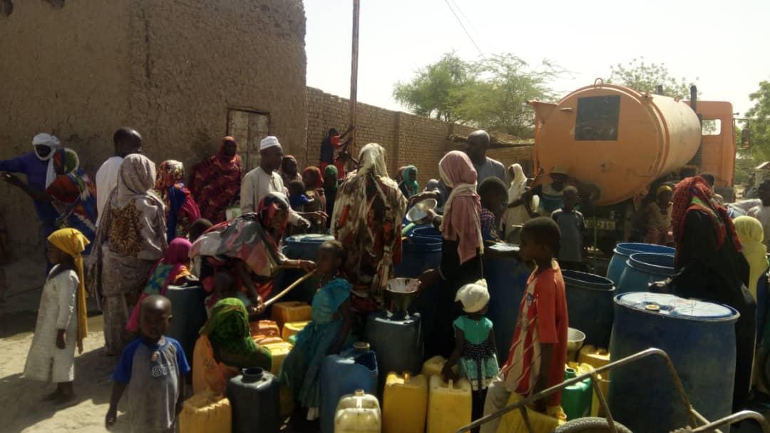 Difficile d'étancher sa soif dans la ville d'Abéché