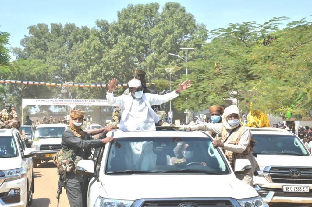 Tournée présidentielle : Sarh accueille le Maréchal du Tchad avec faste