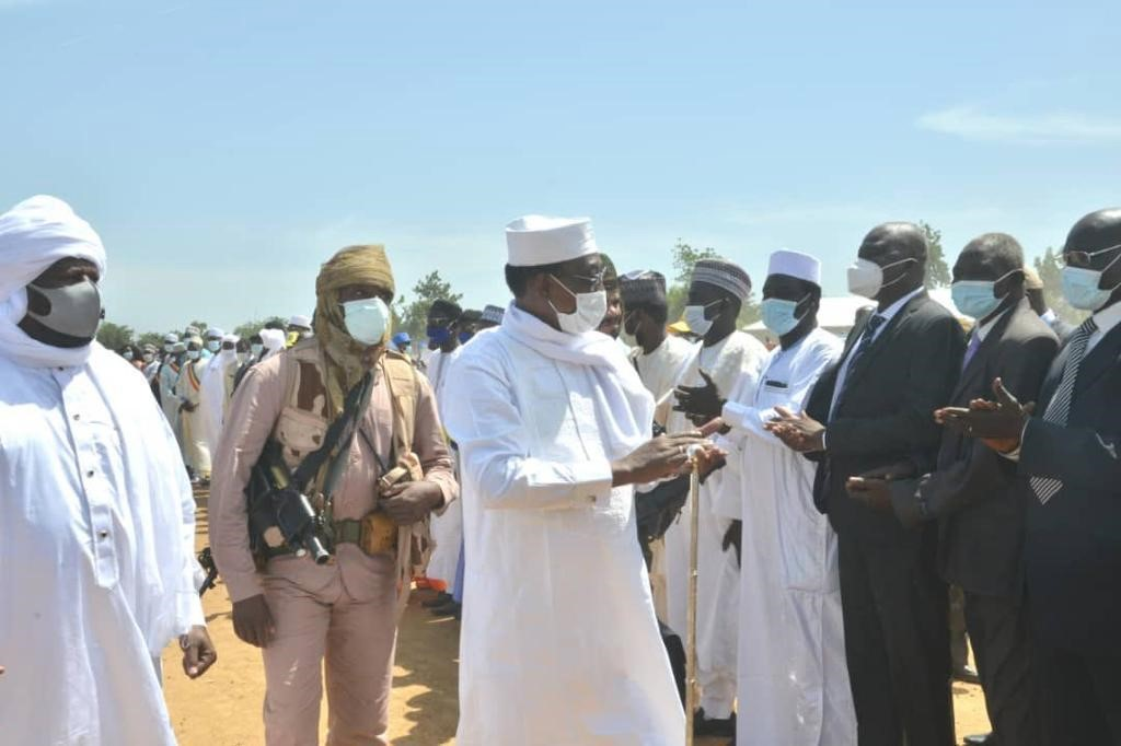 Le Maréchal du Tchad en tournée dans la partie méridionale du pays