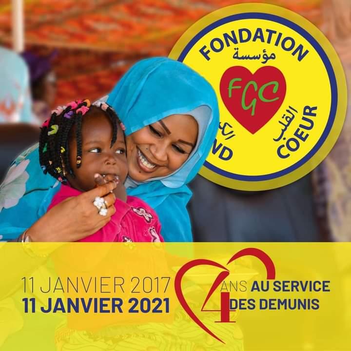 La fondation Grand Coeur de la première dame du Tchad, fête ses 4 ans d'existence