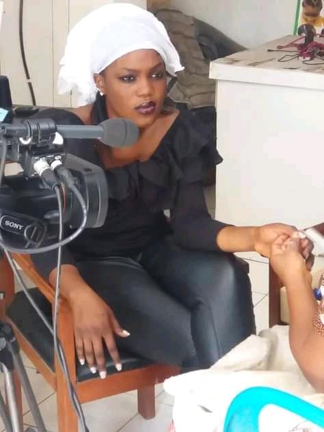 Mariam Abdelaziz Hunwanou, espoir du cinéma tchadien