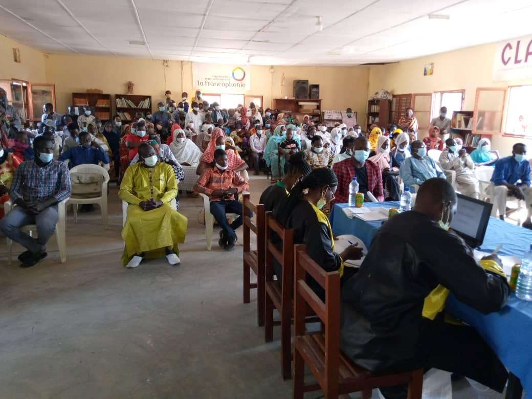 A Mongo, les lauréates de la première promotion de l'EPASM soutiennent leurs mémoires de fin de formation