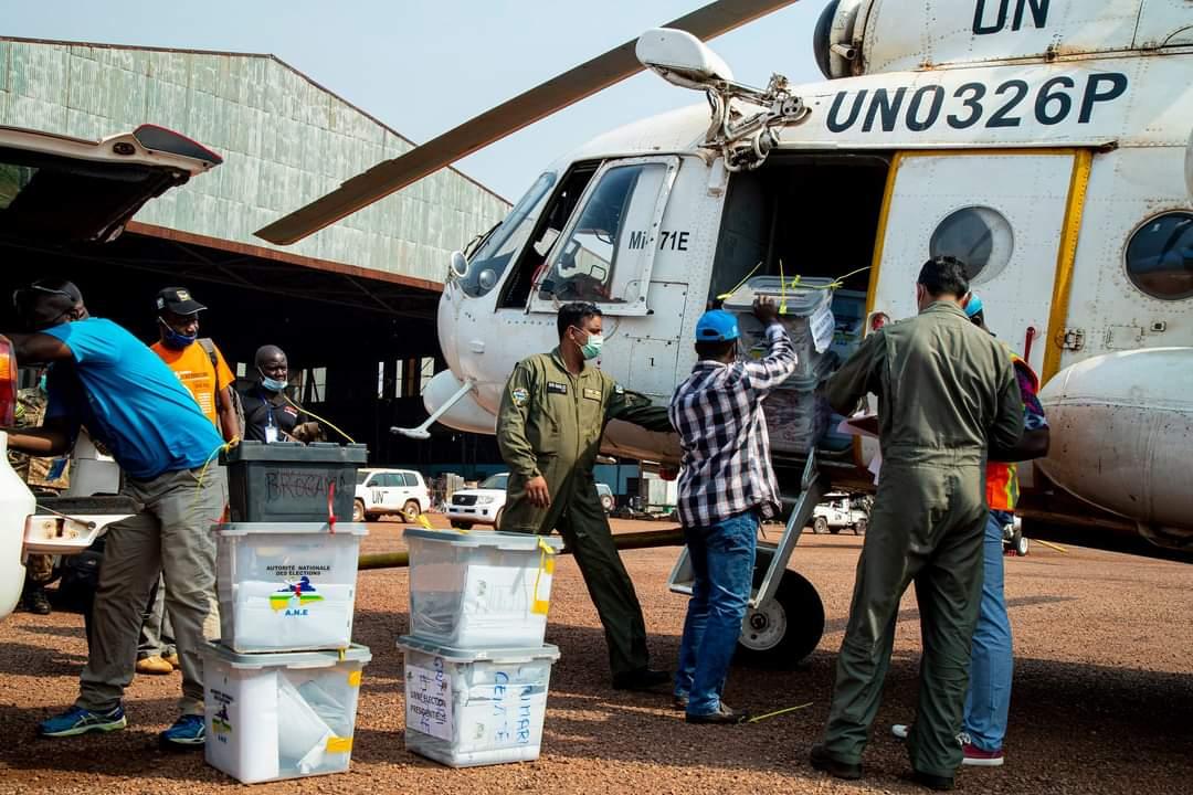 RCA: les résultats des élections acheminés sous la sécurisation de la MINUSCA vers Bangui