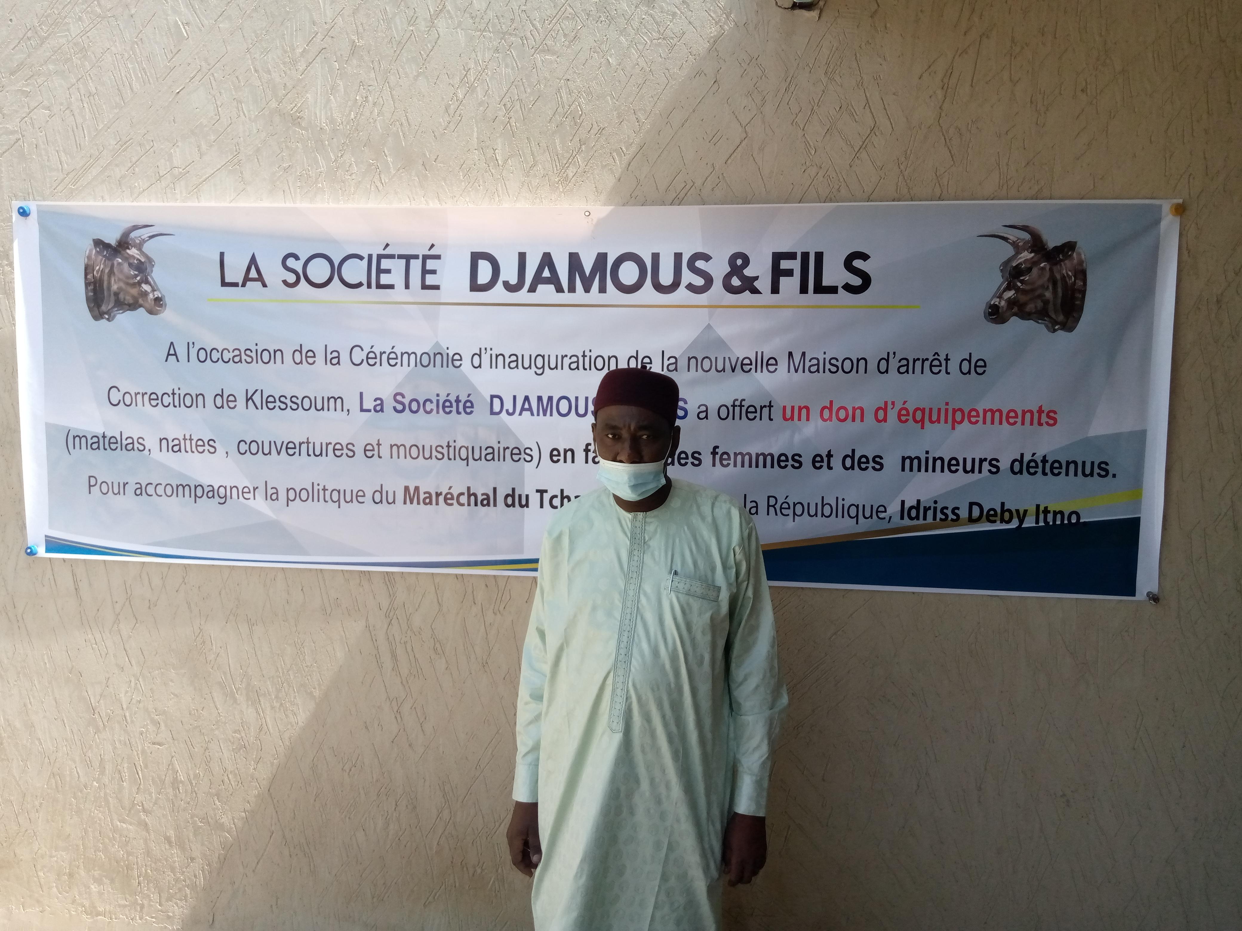 L'entreprise Djamous & Fils au chevet des prisonniers