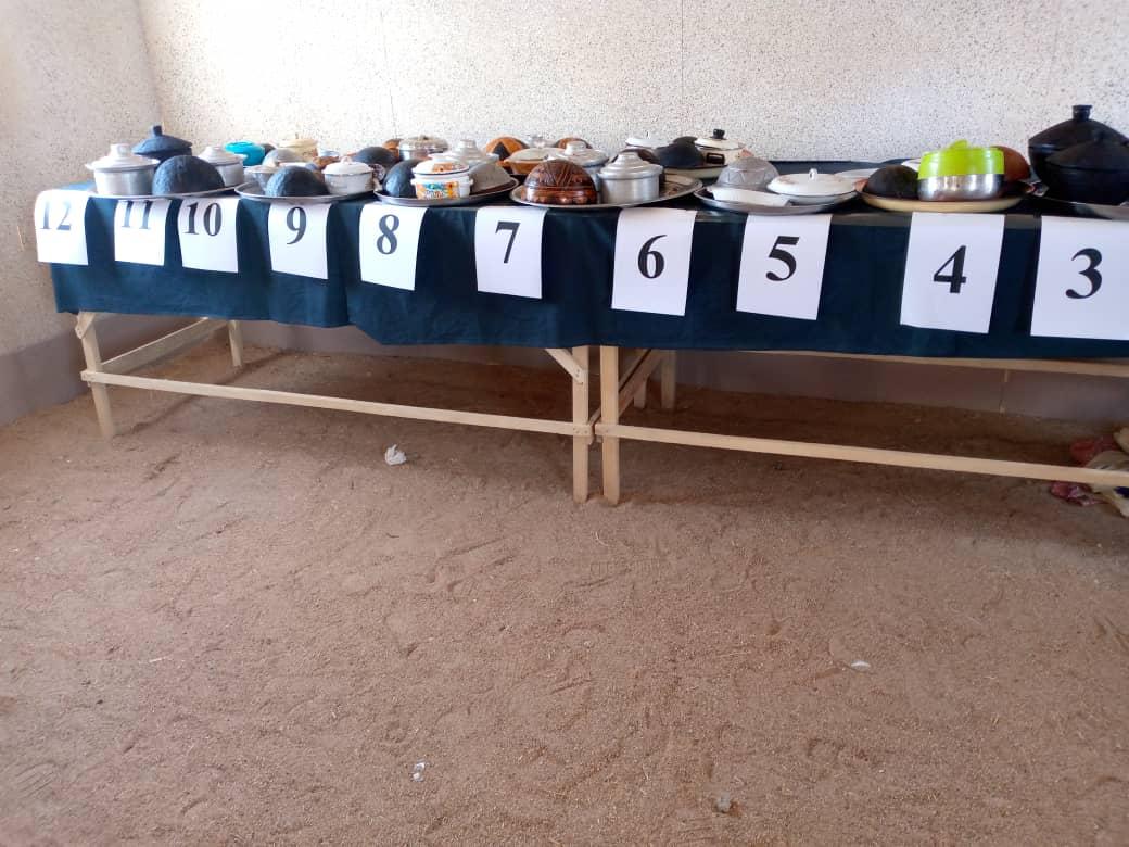 Lancement du concours de l'art culinaire par la ministre de l'Aménagement du Territoire, du Développement de l'Habitat et de l'Urbanisme, Mme Ammina Ehemir Torna