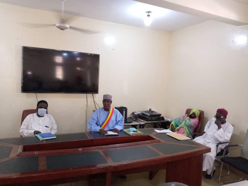 La commune urbaine de Mongo ouvre la session budgétaire de l'exercice de 2021