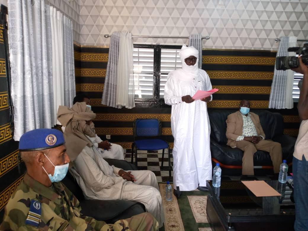 Département du Guéra: le nouveau préfet Mahamat Brahim Abdramane installé dans ses fonctions