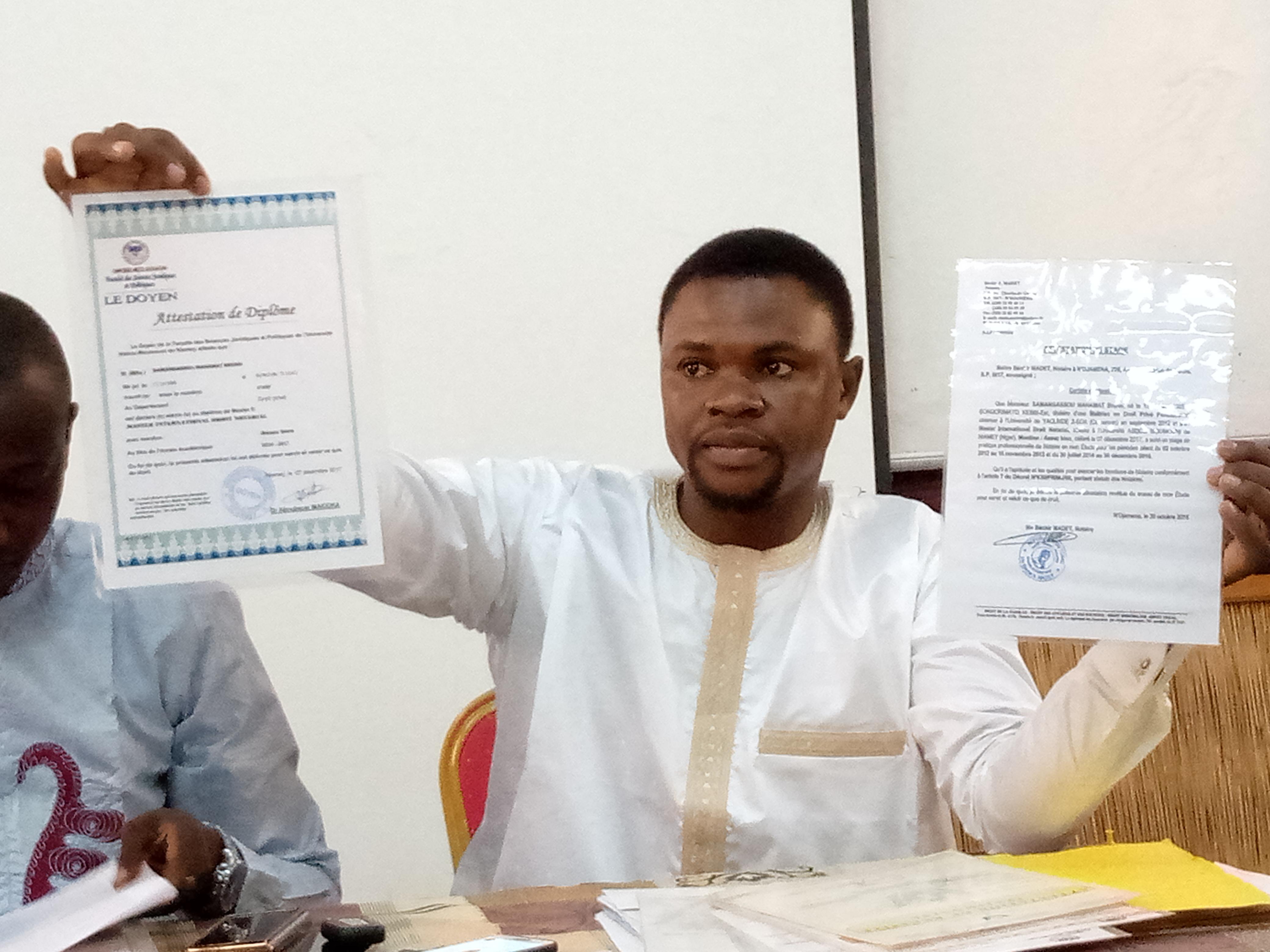 Samagassou Mahamat Bruno reconduit notaire : les explications sur l'affaire