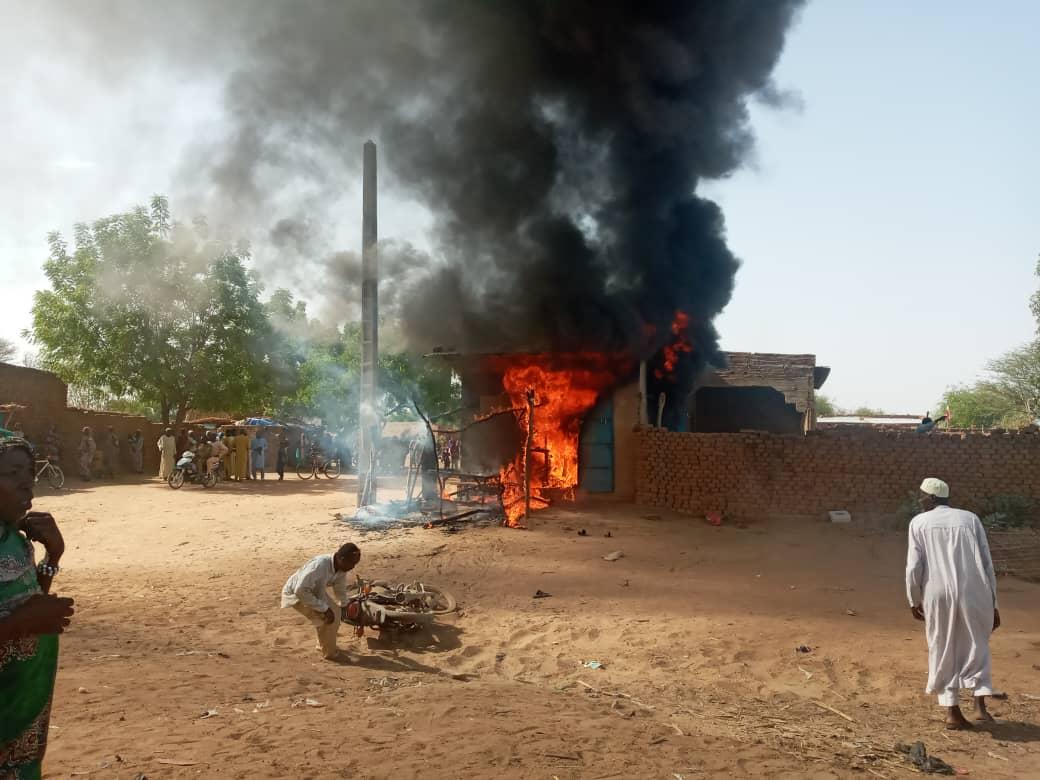 Un incendie a ravagé une boutique de vente de carburant à Mongo
