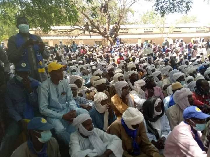 Moussa Kadam, le chef de mission de la campagne au Guéra est à Baro
