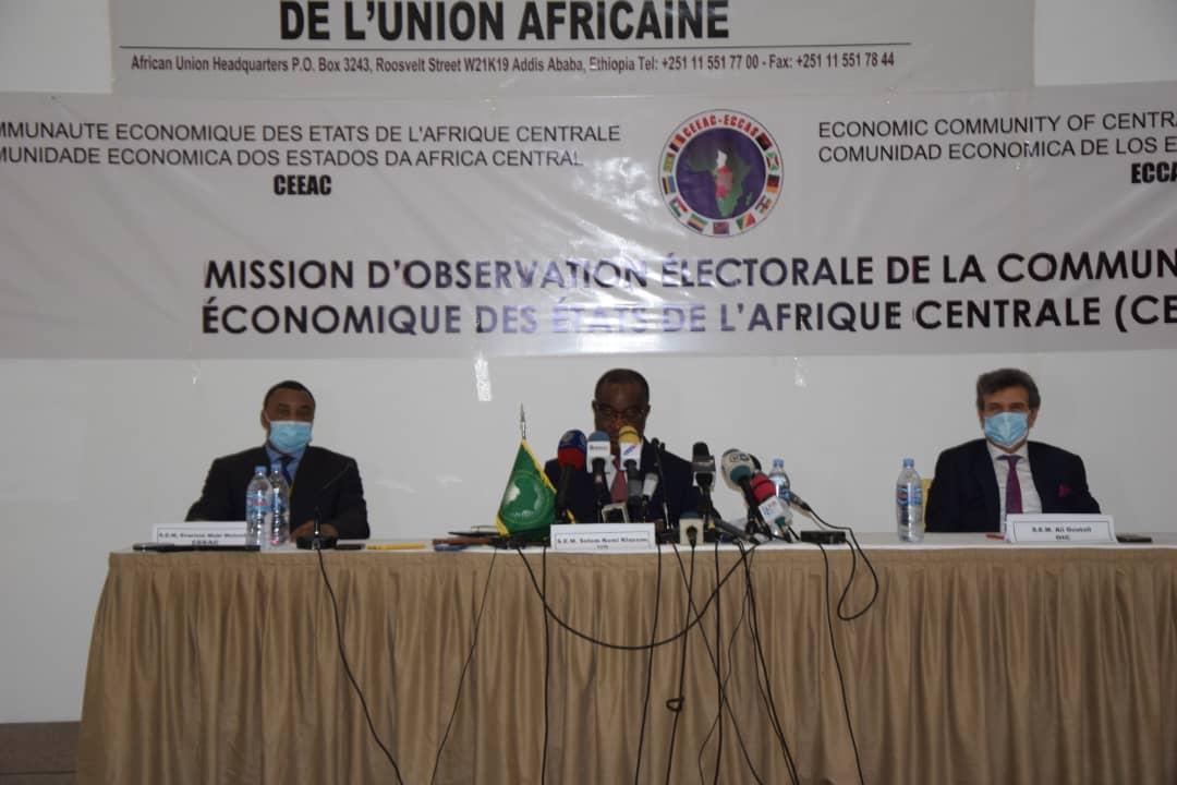 L'Union africaine, la CEEAC et l'OCI expriment leur satisfaction