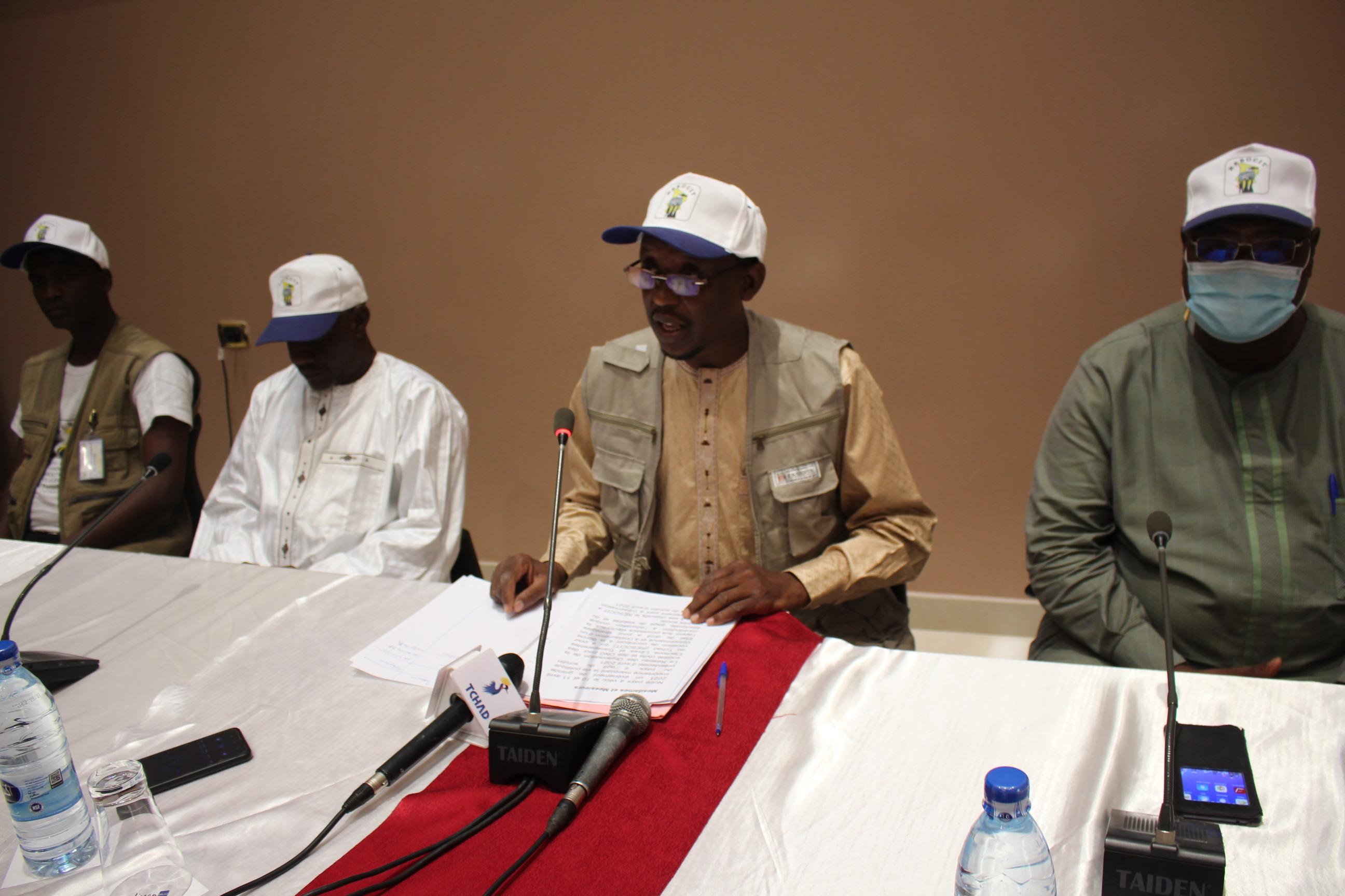 Le RESOCIT salue la maturité du peuple tchadien lors de son déroulement