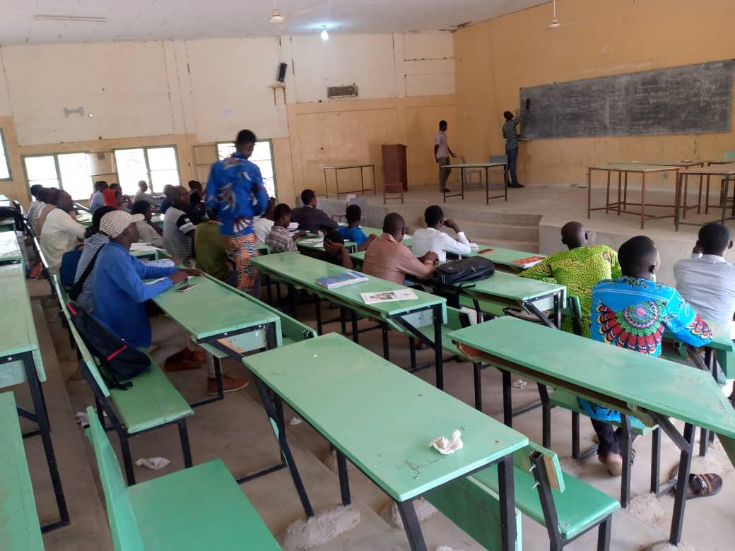 Les cours ont timidement repris à l'université polytechnique de Mongo, sans la réhabilitation des 4 étudiants exclus