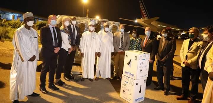 Le Tchad reçoit des doses de vaccin