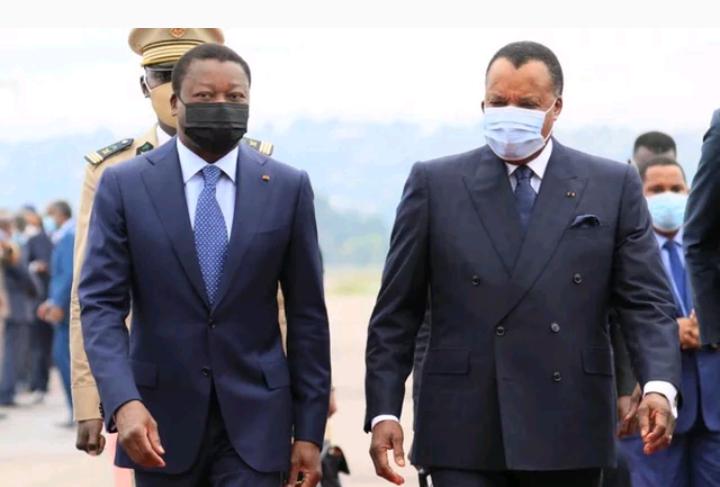 Faure Gnassingbé et Denis Sassou Nguesso appellent à une transition inclusive