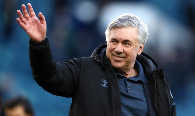 Carlos Ancelotti, nouvel entraîneur du Real Madrid
