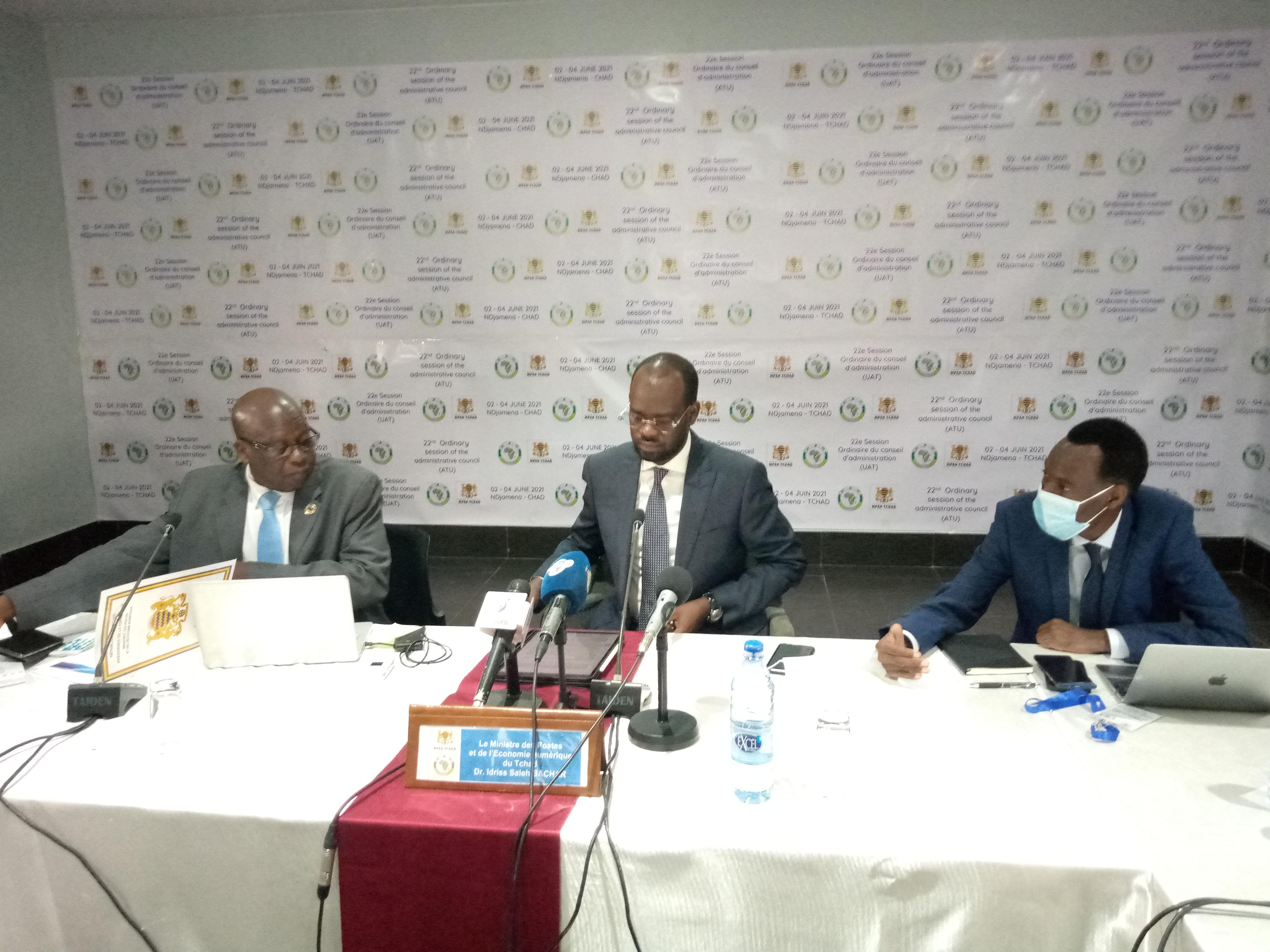 Le Tchad préside la 22ème session ordinaire du Conseil d'administration l'Union africaine des télécoms