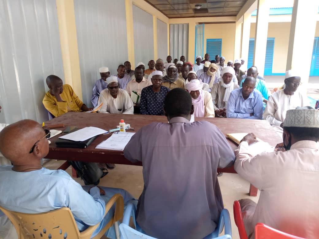 Lutte syndicale: le vice-président de l'UST Younous Mahadjir rencontre la base de Mongo