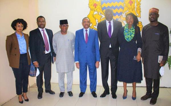 La délégation de l'UA reçue par les autorités tchadiennes