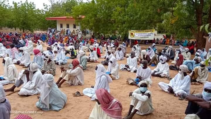 A Mangalmé, dans le Guéra, 515 personnes opérées de cataracte par la Fondation Grand Cœur