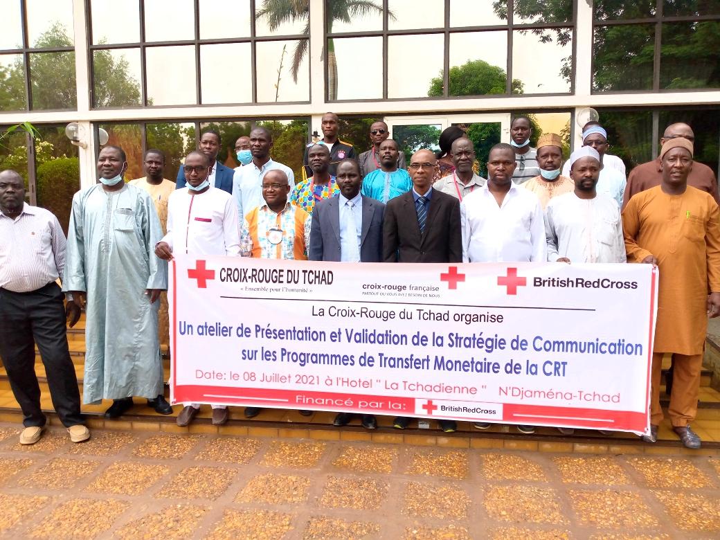 Le transfert monétaire au cœur d'un atelier de la Croix Rouge du Tchad