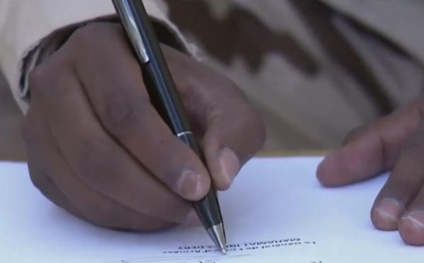 Mahamat Adam Abdallah, nouvel attaché de défense de l'Ambassade du Tchad au Mali