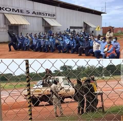 Les employés d'Esso à Komé occupent l'aéroport pour empêcher la visite des responsables de Savannah Energy