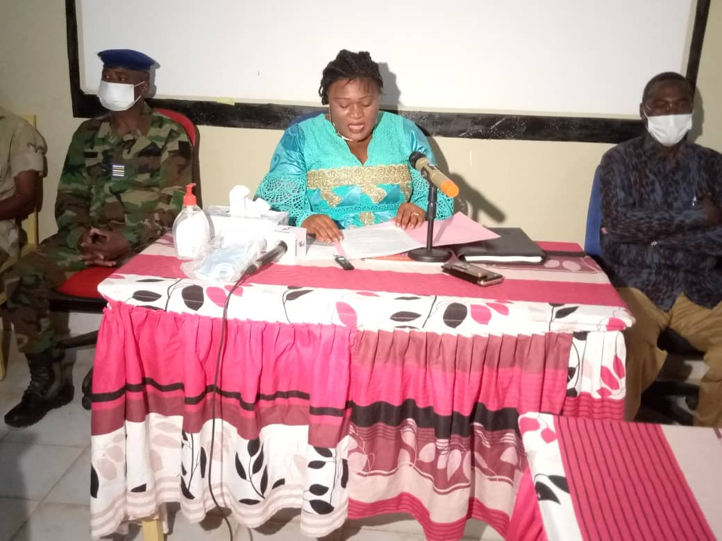 Koumra : formation des acteurs des points d'entrée sur le règlement sanitaire international