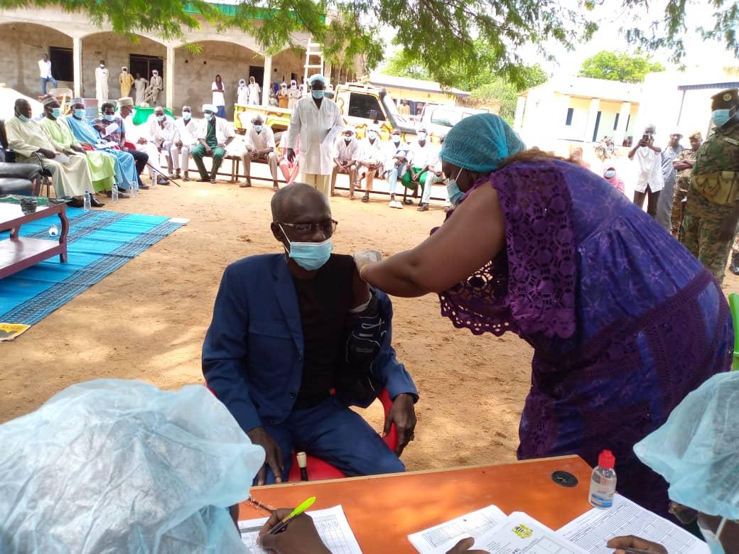 Province du Guéra : la campagne de vaccination contre la Covid-19 officiellement lancée