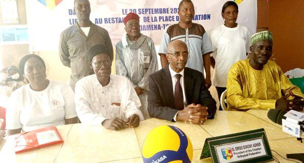 Fédération Tchadienne de Volley-ball : le Général Idriss Dokony Adiker reconduit président pour un 6e mandat
