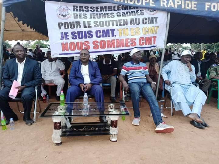 Moundou : grande manifestation en soutien au Conseil Militaire de Transition hier soir