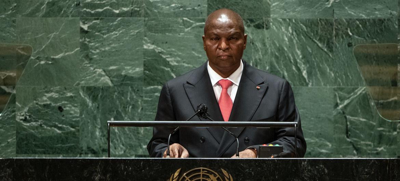 Le Président de la République centrafricaine affirme la volonté de son pays de lutter contre l'impunité