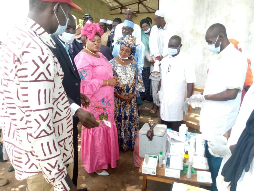 Le ministère de la Santé publique et de la Solidarité nationale renforce l'immunité des nomades de la province du Mandoul à travers la vaccination contre les maladies cibles du PEV de