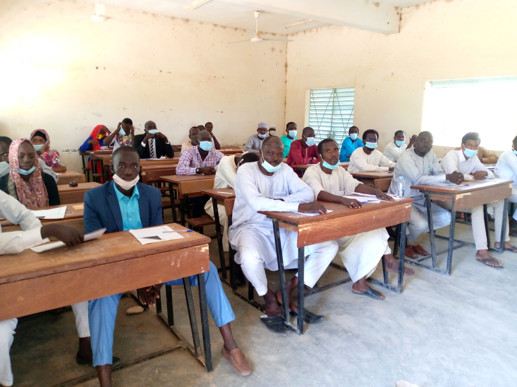 147 candidats composent le concours d'entrée à l'ENA à Mongo