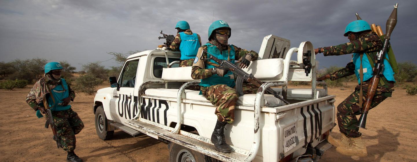 La mission conjointe de paix ONU-Union africaine au Darfour se termine