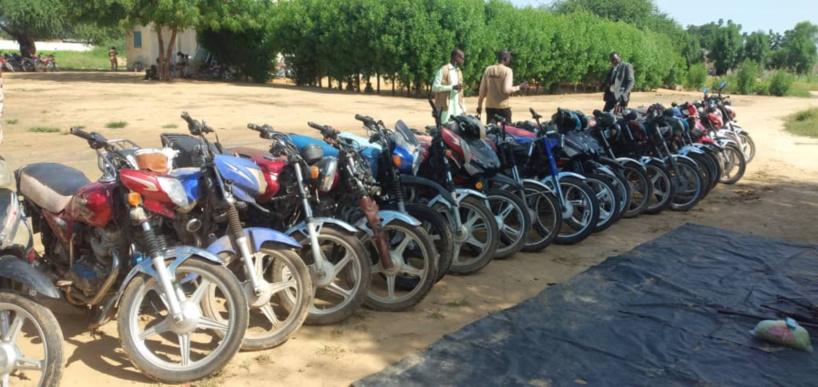 Sécurité : la Gendarmerie nationale présente plusieurs objets saisis par ses soins
