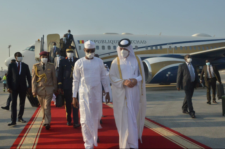 Mahamat Idriss Déby Itno est à Doha au Qatar