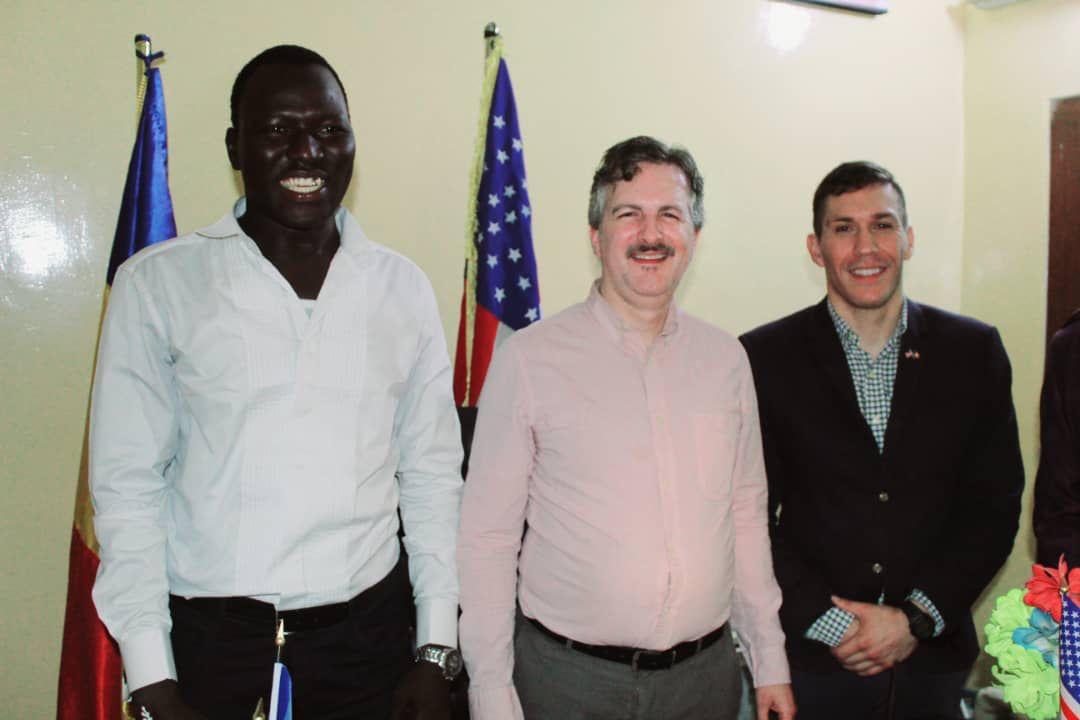 Le chef de mission de l'Ambassade des Etats-Unis en visite de courtoisie au Centre Américain Happiness