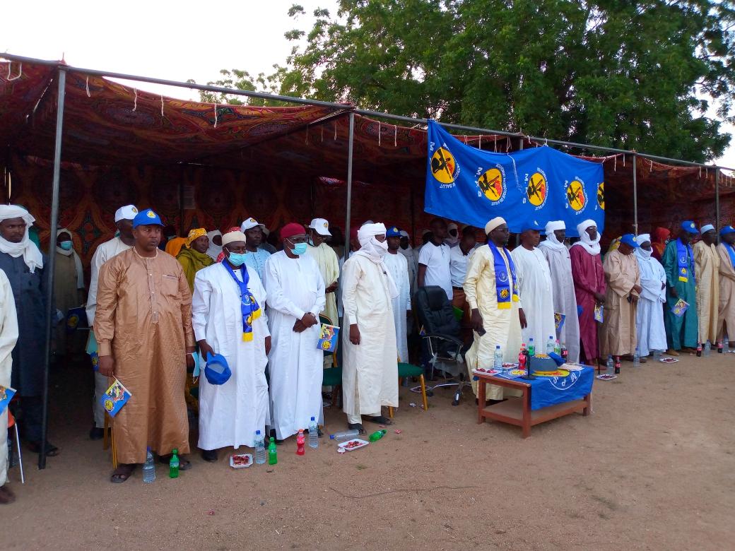 Les militants du MPS du Guéra remercient le PCMT d'avoir nommé Moussa Kadam comme Secrétaire Général de la Présidence