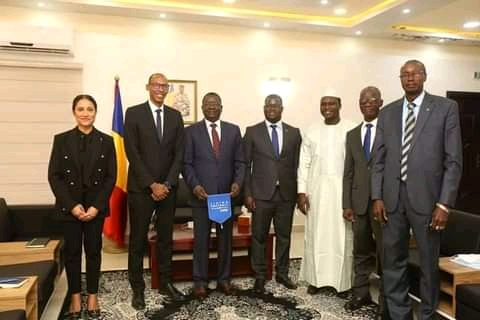 Football: le premier Ministre reçoit une mission de la FIFA-CAF